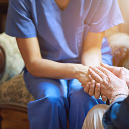 Compassionate home care worker